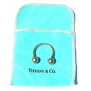 CCO⏳SALE VINTAGE Tiffany & Co. 925 Silver Key Ring